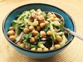 Make-ahead chickpea salad with cumin and celery