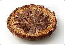 Mama's peach custard pie