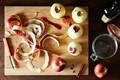 Mario Batali's apple tart Tatin