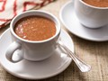 Mexican hot chocolate and corn drink (Champurrado)