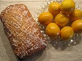 Meyer lemon bread with lemon glaze