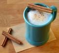Milk chocolate cinnamon mocha