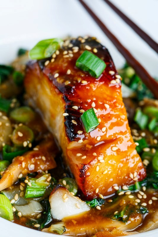 Miso Glazed Black Cod Recipe — Dishmaps