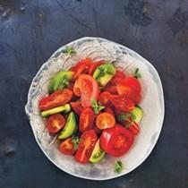 Mixed tomato salad (Insalata di pomodori diversi)