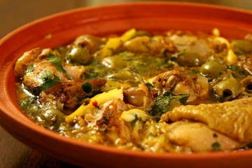 Moroccan chicken with lemon and olives recipe | Eat Your Books