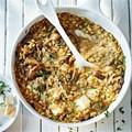 Mushroom and Taleggio risotto