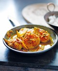 Mustard fish and mango curry (Shorshey macch)