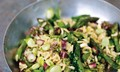 Nigel Slater's pilaf of asparagus, broad beans and mint