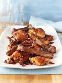 Nigella Lawson's maple chicken 'n' ribs
