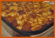 Nigella's Bakewell slices