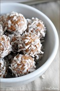 No bake Almond Joy snack bites