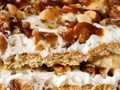 No-bake banana and peanut butter caramel icebox cake from 'The Kitchn Cookbook' (Cook the Book)