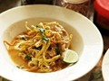 Northern Thai coconut curry noodle soup with chicken (Real-deal khao soi gai)