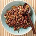 Nutty almond-sesame red quinoa