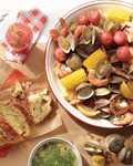 One-pot clam bake