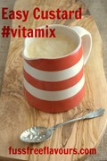 One step Vitamix custard