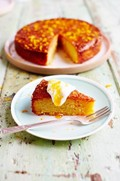 Orange & polenta cake
