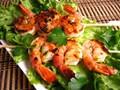 Orange chipotle shrimp