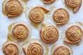 Orange pinwheel pastries (Arancini di carnevale)