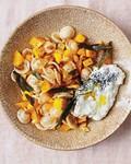 Orecchiette with butternut squash and sage