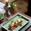 Pan-fried stuffed squid (Muc nhoi tom thit)