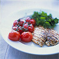 Pan-grilled chicken breast