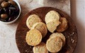 Parmesan and thyme shortbread