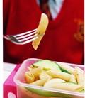 Pasta and cheese salad