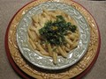 Pasta with Meyer lemon sauce
