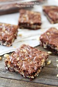 Peanutty buckeye bars