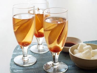 Pear brandy cocktails
