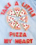 Pizza my heart cookies