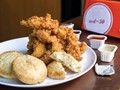 Popeyes-style buttermilk biscuits from 'Fried & True' (Cook the Book)