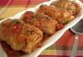 Pressure cooker stuffed cabbage rolls