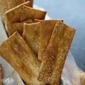 Pretzel crackers
