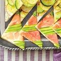 Prosciutto-asparagus tea sandwiches