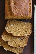 Pumpkin banana pecan bread