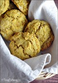 Pumpkin chai drop biscuits