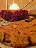 Pumpkin cheesecake squares