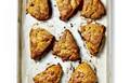 Pumpkin scones with cinnamon butter