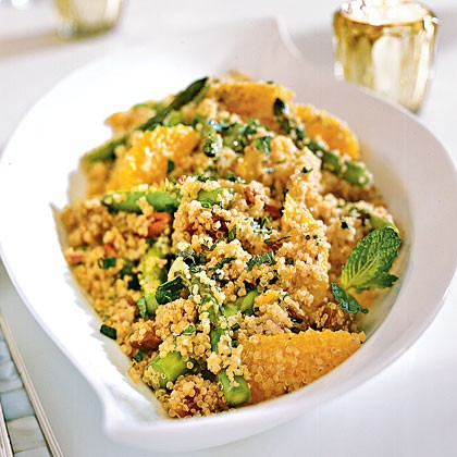 Cider-Glazed Carrot And Quinoa Salad