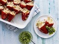 Quinoa-stuffed piquillo peppers