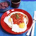 Ranch-style eggs (Huevos rancheros)