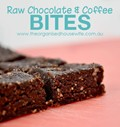 Raw chocolate & coffee bites