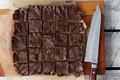 Raw vegan chocolate coconut bars
