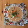 Red curry rockfish chowder