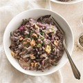 Risotto with Taleggio, radicchio and red wine