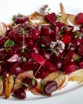 Roasted-beet-and-onion salad