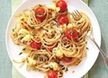 Roasted-cauliflower spaghetti with lemon