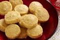 Rosemary-Swiss shortbread bites
